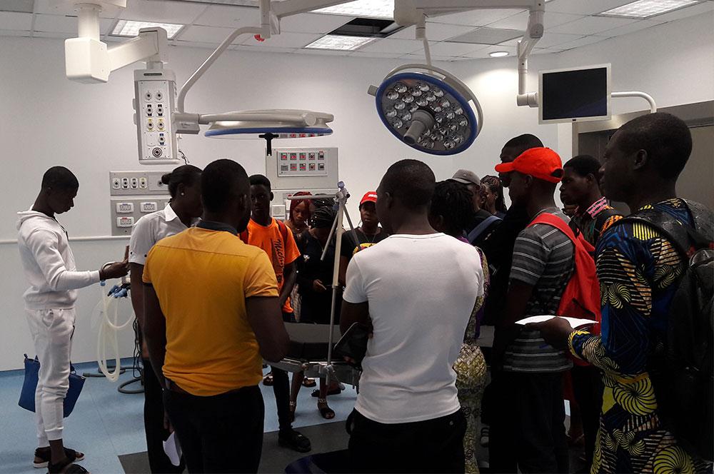 Visit of students from UNIVERSITÉ D'ABOMEY- Benin