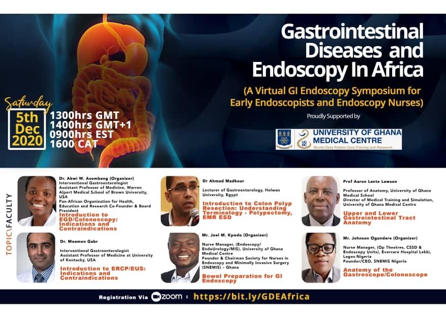 Virtual Symposium for endoscopists, endoscopic nurses.