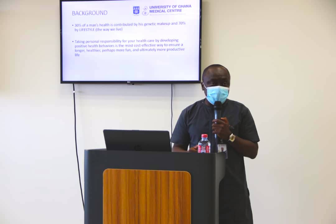 Ghanaians advised to start screening for Hypertension from 18 years - UGMC Family Medicine Specialist
