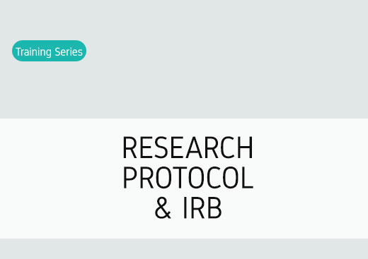 The Research protocol and IRB
