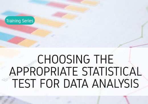Choosing the appropriate statistical test for data analysis
